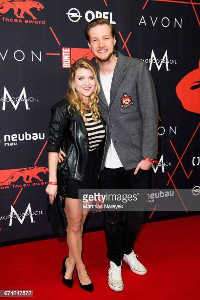 Lara Mandoki and guest attend the New Faces Award Film at Haus Ungarn on April 27 2017 in Berlin Germany