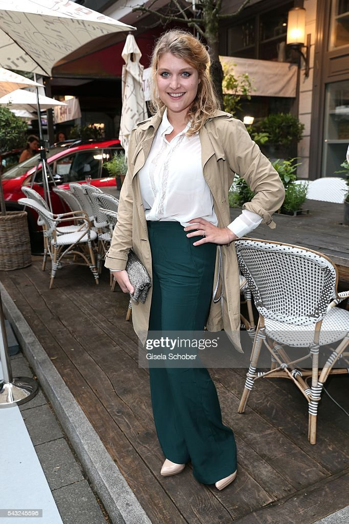 Lara Mandoki during the Peugeot BVC Casting Night during the Munich Film Festival 2016 at Kaeferschaenke on June 26, 2016 in Munich, Germany.