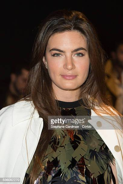 Lara Micheli Beigbeder attends the John Galliano show as part of the Paris Fashion Week Womenswear Fall/Winter 2015/2016 on March 8 2015 in Paris...