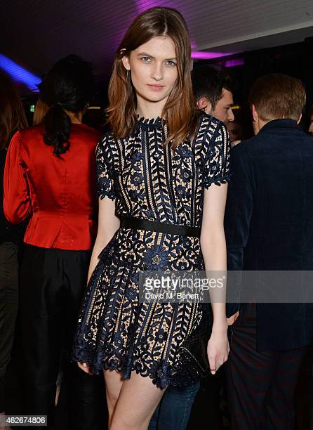 Lara Mullen attends the InStyle and EE Rising Star Party in association with Lancome Karen Millen and Sky Living at The Ace Hotel on February 2 2015...