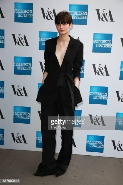 Lara Mullen attends The VA Opens Spring 2017 Fashion Exhibition Balenciaga Shaping Fashion at The VA on May 24 2017 in London England
