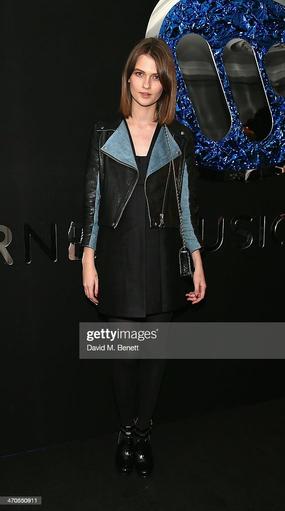 Lara Mullen attends The Warner Music Group And Belvedere Brit Awards After Party In Association With Vanity Fair at The Savoy Hotel on February 19...