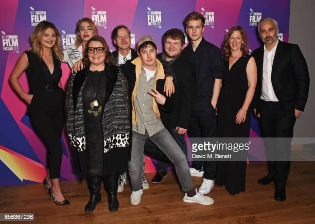 Lara Peake Alice Sanders Joanna Scanlan director John Cameron Mitchell Alex Sharp Ethan Lawrence Abraham Lewis Philippa Goslett and producer Iain...