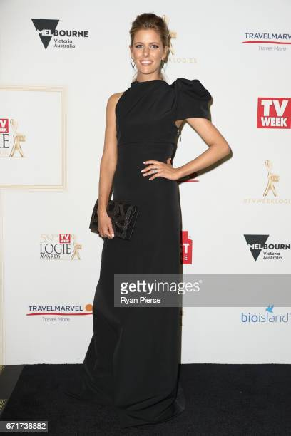 Lara Pitt arrives at the 59th Annual Logie Awards at Crown Palladium on April 23 2017 in Melbourne Australia