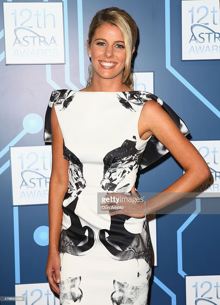 Lara Pitt attends the 12th Astra Awards at Carriageworks on March 20, 2014 in Sydney, Australia.