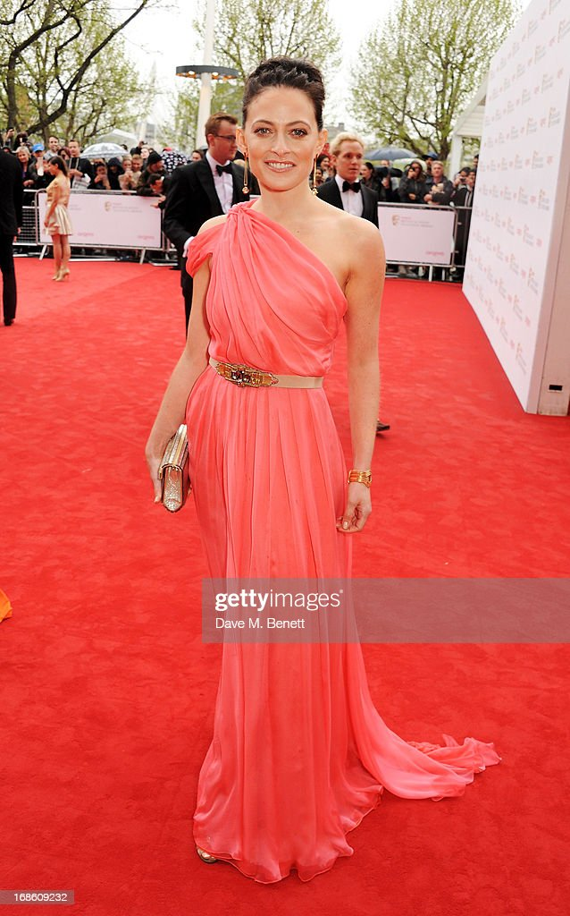 Lara Pulver attends the Arqiva British Academy Television Awards 2013 at the Royal Festival Hall on May 12, 2013 in London, England.