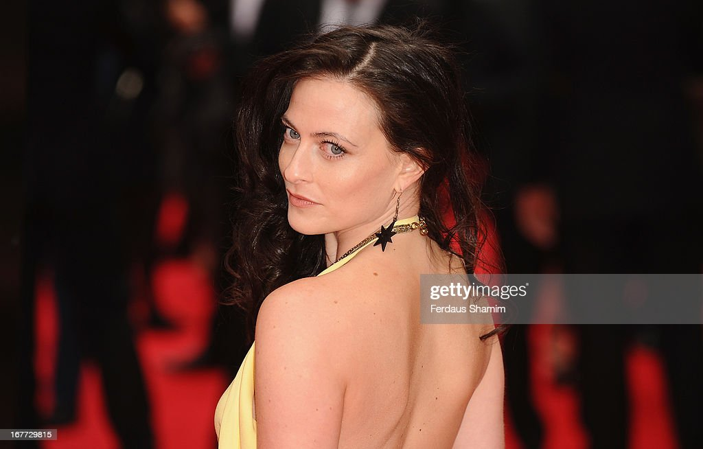 Lara Pulver attends The Laurence Olivier Awards at The Royal Opera House on April 28, 2013 sLondon, England.