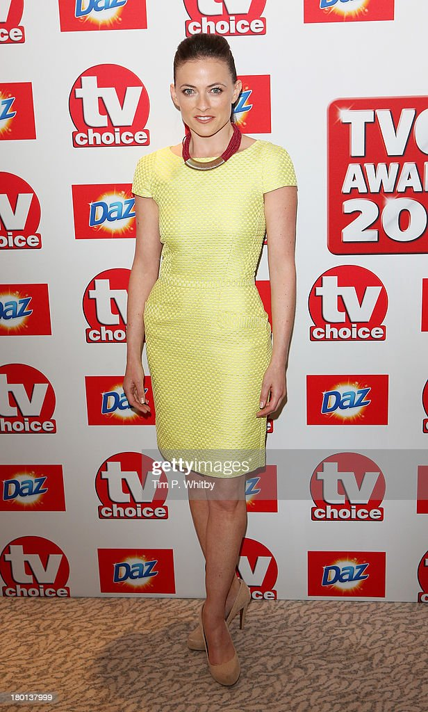 <a gi-track='captionPersonalityLinkClicked' href=/galleries/search?phrase=Lara+Pulver&family=editorial&specificpeople=5505994 ng-click='$event.stopPropagation()'>Lara Pulver</a> attends the TV Choice Awards 2013 at The Dorchester on September 9, 2013 in London, England.
