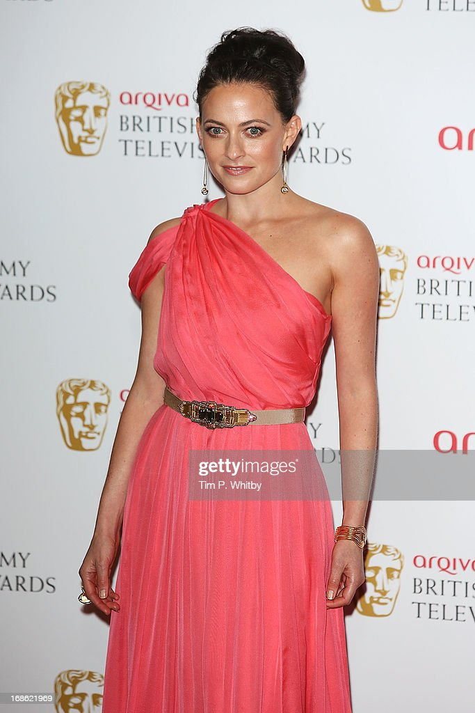 Lara Pulver during the Arqiva British Academy Television Awards 2013 at the Royal Festival Hall on May 12, 2013 in London, England.