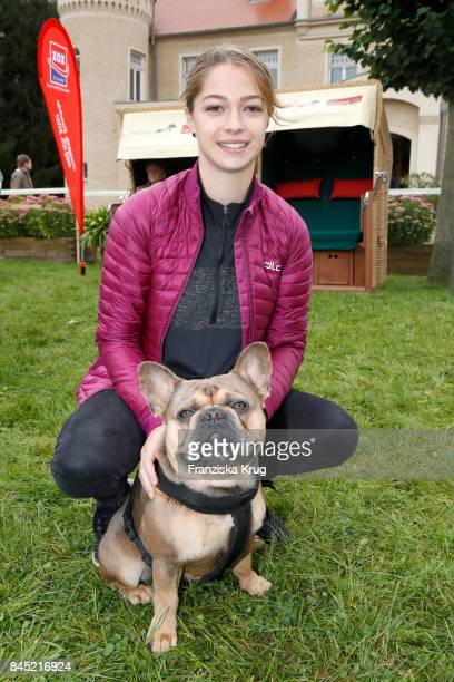 Lara Sophie Koroll attends the Till Demtroeders CharityEvent 'Usedom Cross Country' at Schloss Stolpe on September 9 2017 near Heringsdorf at Usedom...