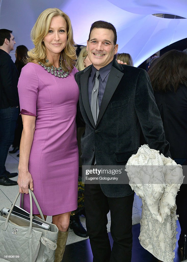 <a gi-track='captionPersonalityLinkClicked' href=/galleries/search?phrase=Lara+Spencer+-+Journalist&family=editorial&specificpeople=240321 ng-click='$event.stopPropagation()'>Lara Spencer</a> and <a gi-track='captionPersonalityLinkClicked' href=/galleries/search?phrase=Phillip+Bloch&family=editorial&specificpeople=204171 ng-click='$event.stopPropagation()'>Phillip Bloch</a> attends Elie Tahari during Fall 2013 Mercedes-Benz Fashion Week on February 12, 2013 in New York City.
