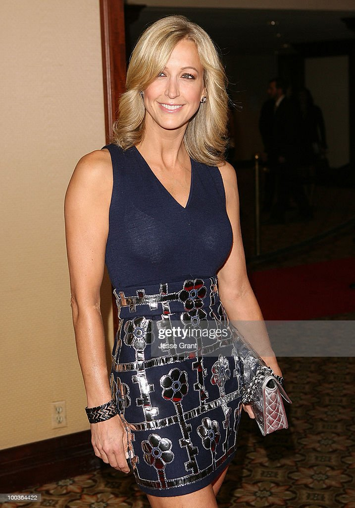 Lara Spencer arrives at the 25th anniversary of Cedars-Sinai Sports Spectacular at the Hyatt Regency Century Plaza on May 23, 2010 in Century City, California.