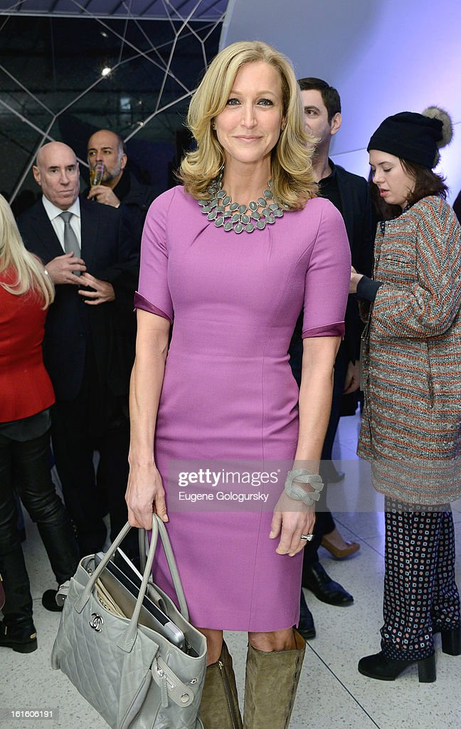 Lara Spencer attends Elie Tahari during Fall 2013 Mercedes-Benz Fashion Week on February 12, 2013 in New York City.