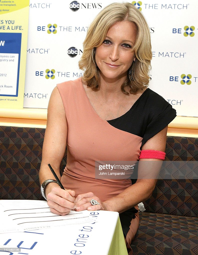 Lara Spencer attends the ABC News Bone Marrow Drive at ABC Studios on June 26, 2012 in New York City.