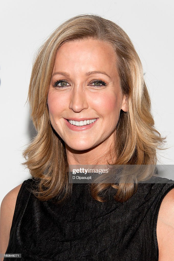 Lara Spencer attends the 'MAKERS: Women Who Make America' New York Premiere at Alice Tully Hall on February 6, 2013 in New York City.