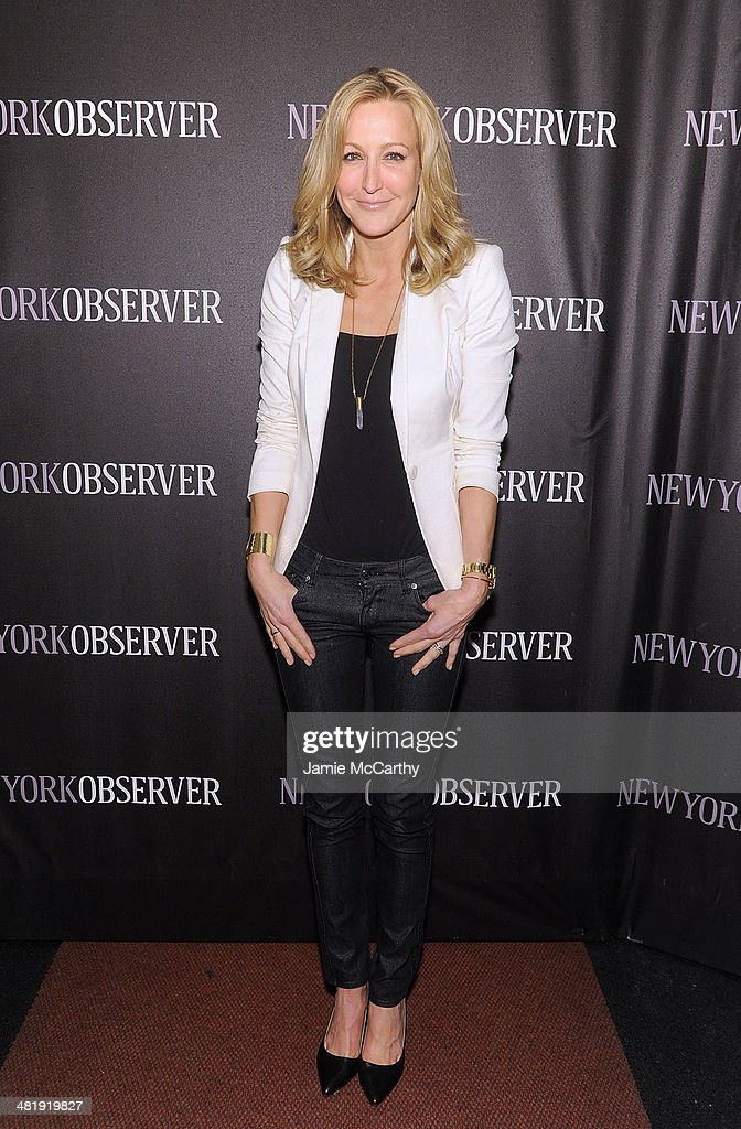 <a gi-track='captionPersonalityLinkClicked' href=/galleries/search?phrase=Lara+Spencer+-+Journalist&family=editorial&specificpeople=240321 ng-click='$event.stopPropagation()'>Lara Spencer</a> attends The New York Observer Relaunch Event on April 1, 2014 in New York City.