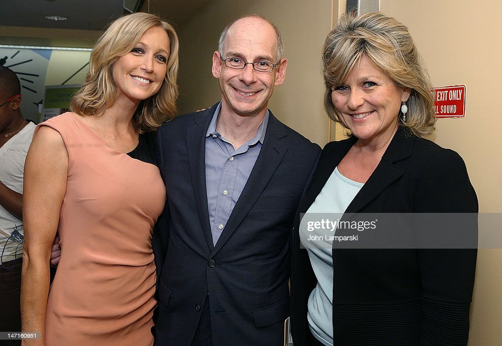 <a gi-track='captionPersonalityLinkClicked' href=/galleries/search?phrase=Lara+Spencer+-+Journalist&family=editorial&specificpeople=240321 ng-click='$event.stopPropagation()'>Lara Spencer</a>, James Goldston and <a gi-track='captionPersonalityLinkClicked' href=/galleries/search?phrase=Cynthia+McFadden&family=editorial&specificpeople=2180286 ng-click='$event.stopPropagation()'>Cynthia McFadden</a> attend the ABC News Bone Marrow Drive at ABC Studios on June 26, 2012 in New York City.