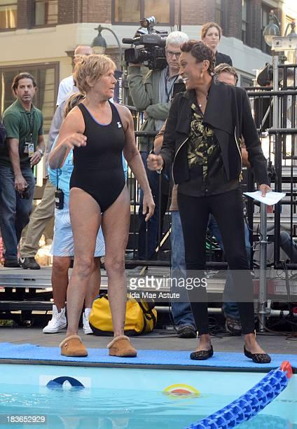 Good Morning America Usa Swimming : Diana lara fotografías e imágenes de stock getty images