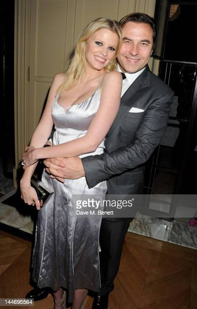 Lara Stone and David Walliams attends as The IFP Calvin Klein Collection euphoria Calvin Klein celebrate Women In Film during the 65th Cannes Film...
