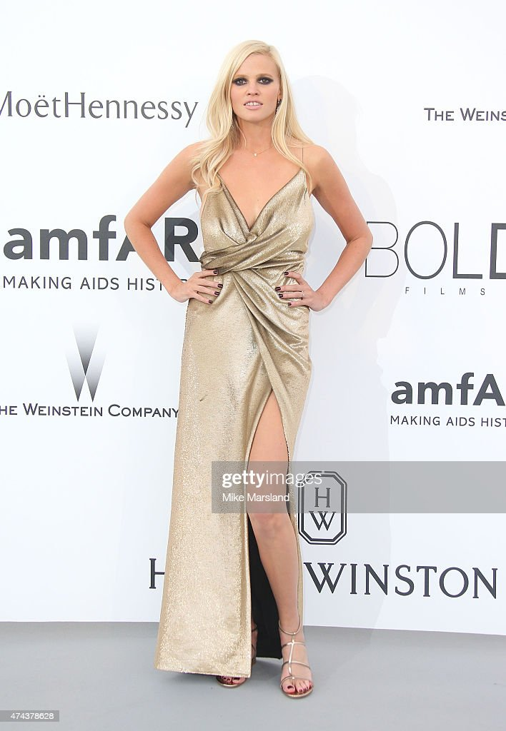 Lara Stone attends amfAR's 22nd Cinema Against AIDS Gala, Presented By Bold Films And Harry Winston at Hotel du Cap-Eden-Roc on May 21, 2015 in Cap d'Antibes, France.