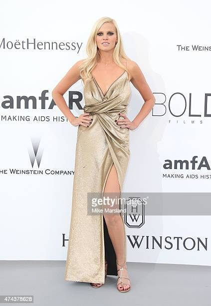Lara Stone attends amfAR's 22nd Cinema Against AIDS Gala Presented By Bold Films And Harry Winston at Hotel du CapEdenRoc on May 21 2015 in Cap...