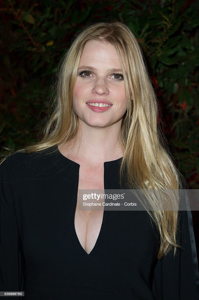 Lara Stone attends the 'Mademoiselle C' Party at Pavillon Ledoyen as part of the Paris Fashion Week Womenswear Spring/Summer 2014, in Paris.