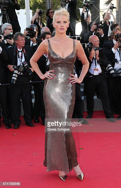 Lara Stone attends the Premiere of 'Youth' during the 68th annual Cannes Film Festival on May 20 2015 in Cannes France