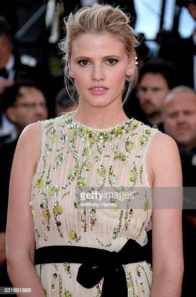 Lara Stone attends the screening of 'Julieta' at the annual 69th Cannes Film Festival at Palais des Festivals on May 17 2016 in Cannes France