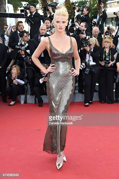 Lara Stone attends the 'Youth' Premiere during the 68th annual Cannes Film Festival on May 20 2015 in Cannes France
