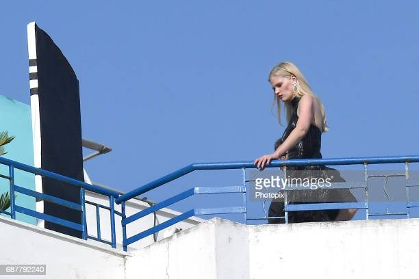 Lara Stone is spotted during the 70th annual Cannes Film Festival at on May 24 2017 in Cannes France