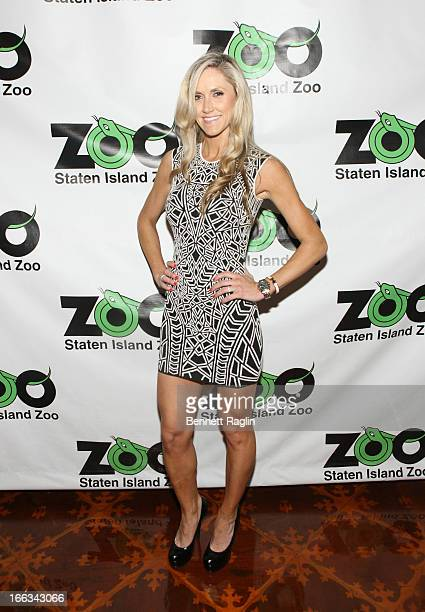Lara Yunaska attends the 2013 Staten Island Zoological Society Ball at Richmond Country Club on April 11 2013 in the Staten Island burough of New...