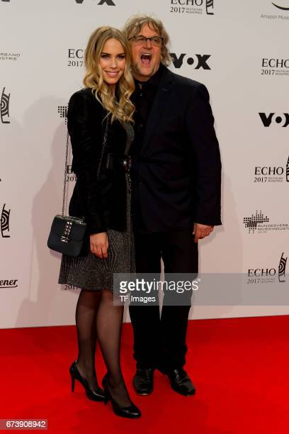 LaraIsabelle Rentinck and Martin Krug on the red carpet during the ECHO German Music Award in Berlin Germany on April 06 2017