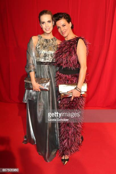 LaraIsabelle Rentinck and Sabine Petzl during the 8th Filmball Vienna at City Hall on March 24 2017 in Vienna Austria