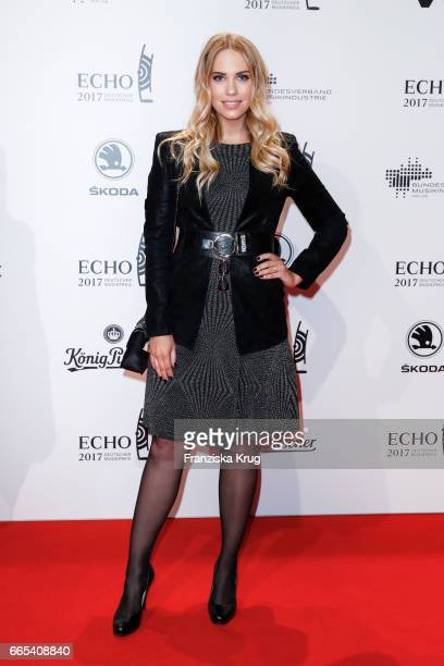 LaraIsabelle Rentinck attends the Echo award red carpet on April 6 2017 in Berlin Germany