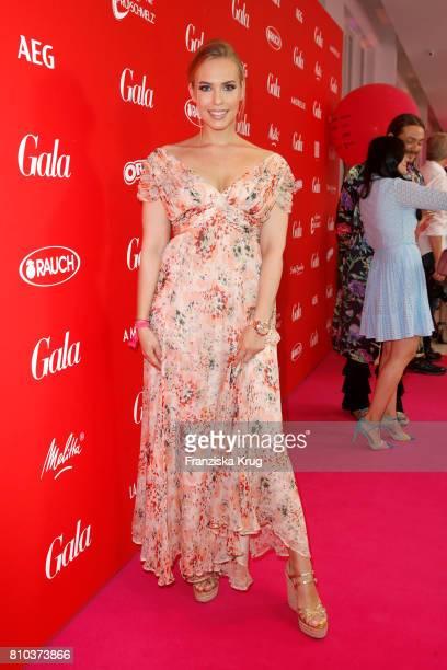LaraIsabelle Rentinck attends the Gala Fashion Brunch during the MercedesBenz Fashion Week Berlin Spring/Summer 2018 at Ellington Hotel on July 7...