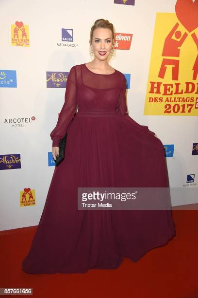 LaraIsabelle Rentinck attends the 'Helden des Alltags' Gala at Theater Kehrwieder on October 4 2017 in Hamburg Germany
