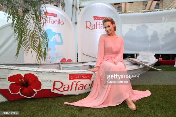 LaraIsabelle Rentinck during the Raffaello Summer Day 2017 to celebrate the 27th anniversary of Raffaello at 'Koenigliche Porzellan Manufaktur'...