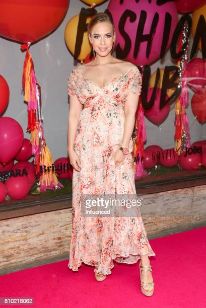 LaraIsabelle Rentinck wearing a dress from Zara attends the Gala Fashion Brunch Ellington Hotel on July 7 2017 in Berlin Germany