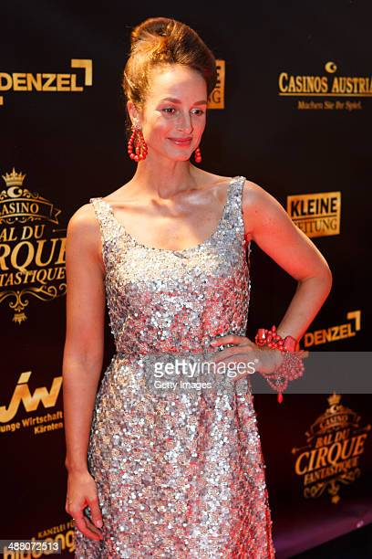 LaraJoy Koerner attends the Bal Du Cirque Fantastique on the occasion of the 25th anniversary of the Casino Velden at Casino Velden on May 3 2014 in...