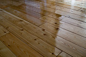 larch wood floor