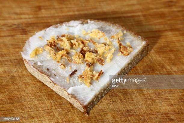 Lard sandwich or Schmalzbrot