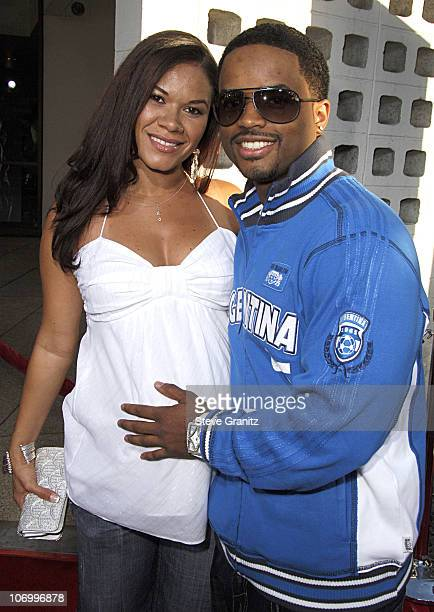 Larenz Tate and Tomasina Parrott during World Wide Premiere of 'Waist Deep' Arrivals at Pacific's Cinerama Dome in Hollywood California United States