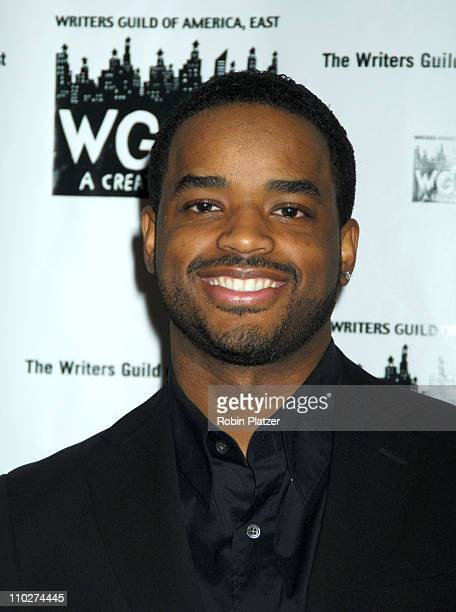 Larenz Tate during The 58th Annual Writers Guild Awards Arrivals at The Waldorf Astoria Starlight Roof in New York New York United States