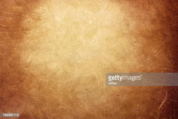 A large and light brown grunge wall