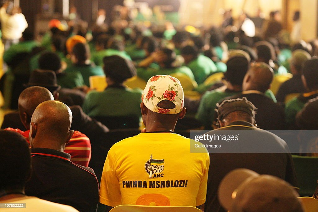 A large audience gathered at the Jacob Zuma Centennial lecture on December 6, 2012 in Potchefstroom, South Africa. The lecture is part of the ANC's centenary celebrations honouring the party's presidents, and is the last before their elective conference in Mangaung.
