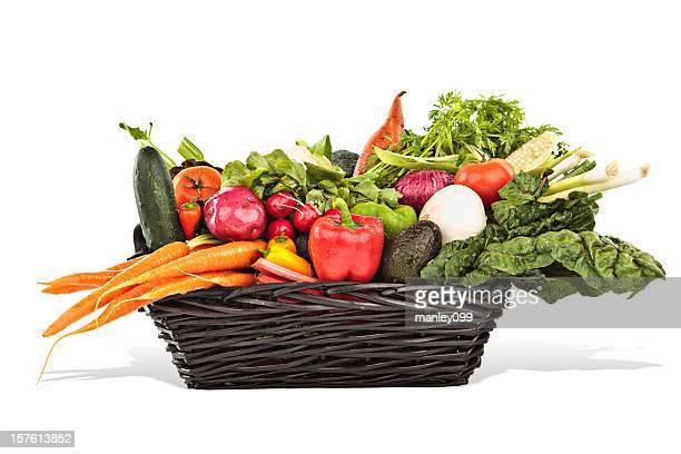 large basket of vegetables