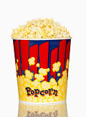 Large Bucket of Movie Popcorn