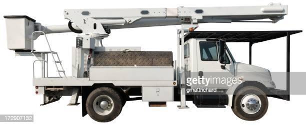 Großer Eimer Truck