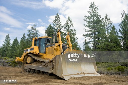 Large Bulldozer