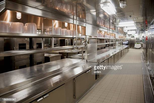 Large commercial kitchen